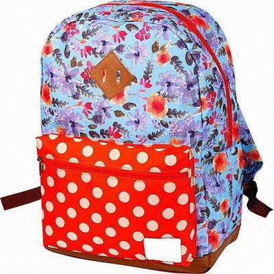 Рюкзак для девочки ZiBi Simple FLOWERS