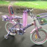 Двухколесный велосипед для девочек Frosen Холодное сердце на 12,14,16,18,20 дюймов