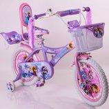 Двухколесный велосипед для девочек Frosen Холодное сердце на 12,16,20 дюймов