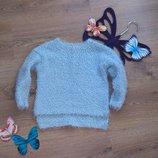 Супер стильный свитер I Love next с асимметрией