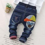 Стильные джинсы рост 80, 90, 100
