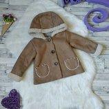 Пальто Baby Girl на девочку с мехом