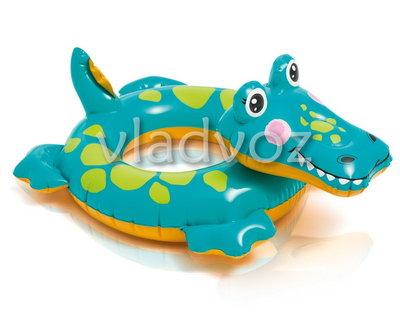 Надувной плавательный круг для плавания игрушка животные Intex 58221