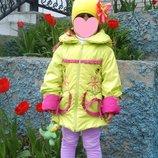 Яркая курточка-плащик