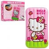Intex Hello Kitty детский надувной матрас 48775