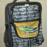 Ортопедический рюкзак Hot Wheels Green для начальных классов