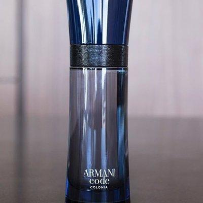 Armani Code Colonia Giorgio Armani 100% оригинал, духи, парфюмерия, парфюм, мужские, армани