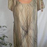 Платье шелк с катоном Autograph