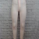 Розовые штаны скинни Н&m, XS леггинсы