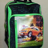 Рюкзак для мальчика Hot Wheels orange для начальных классов