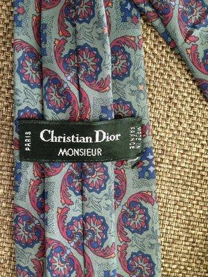 Christian Dior, Франция, Париж, оригинал, брендовый галстук натуральный шелк 100%