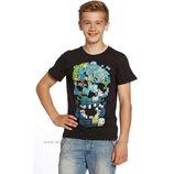 футболка C&A.Германия. Принт 3D. размер С
