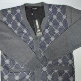 Стильная мужская кофта на пуговицах в 2х цветах и размерах