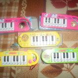пианино на батарейках 2 режима звучания