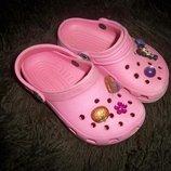 Фірмові крокси Crocs оригінал С 8 9 - 16.5 см, Боснія.