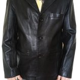 Кожаный пиджак,Размер С-М. идеальное состояние