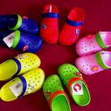 Кроксы детские сабо аналог Crocs