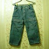 Джинсы брюки WOODY, рост 116 джинсы утепленные по всей длине мальчик девочка зима распродажа
