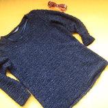 Красивая кофта свитер с паетками TU,р.10,отличное состояние