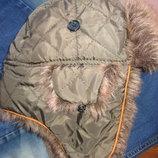 Зимняя шапка ушанка Mothercare 48-52 см