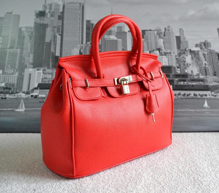 Купить коричневую кожаную сумку HERMES Birkin 35 в