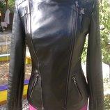 Очень красивая куртка косуха из натуральной кожи в наличии и под заказ