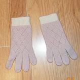 Фирменные демисезонные перчатки для девочки 3-5 лет