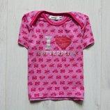 Яркая футболка для девочки. Name it. Размер 6 месяцев. Состояние идеальное