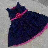 Нарядное фиолетовое платьице George на девочку 1,5-2 годика