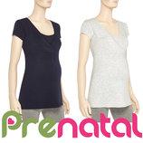 Туніки для вагітних та годуючих мам XS, L, XL від фірми Prenatal Італія