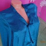 Атласная блуза Gina Tricot размер 36