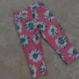 Яркие штанишки Malikon на девочку 1-1,5 годика