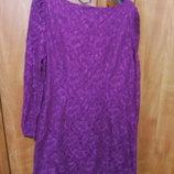 кружевное платье 48-50 размер