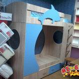 Кровать детская двухъярусная Дельфин а21-2 Merabel