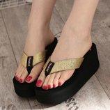 босоножки женские Хит на каблуках на платформе сандалии шлепки ботильоны сланцы