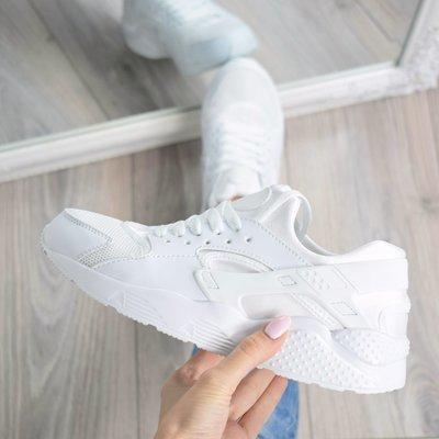 d990f197d1a35f Женские белые кроссовки Nike Huarache: 575 грн - кроссовки nike в ...
