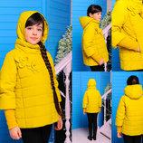 Куртки демисезонные для девочек. Размеры 32,34,36,38,40,42