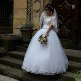 шикарное садебное платье