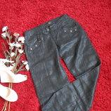 Летние черные брюки 100%оригинал-ЛЕН-S-ка