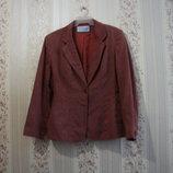 Пиджак ветровка р. 42-48, J.TAYLOR, EU-16, моднявая женская на подкладке распродажа нарядная, лето