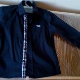 Стильная рубашка 4US на мальчика 104 см