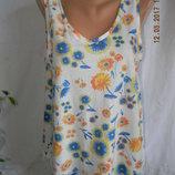 Легкая новая блуза с кружевом