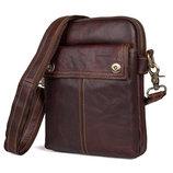 Мужская сумка Cross Bod из натуральной кожи