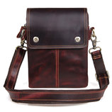 Мужская сумка Cross Body-3 brown из натуральной кожи