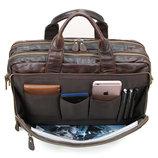 Мужская сумка портфель Дипломат 100% кожа