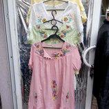 блуза туника вишивнка