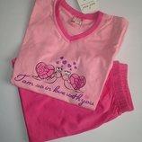 Пижама для девочки на рост 116