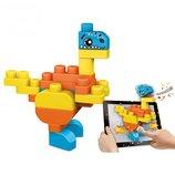 Chicco Конструктор с функцией 3D AppToys Динозаврики 30 элементов App Toys Blocks 06811