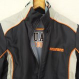 куртка лыжная Skhuaban, двухсторонняя, синяя, рост 140