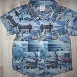 Рубашка с машинками H&M